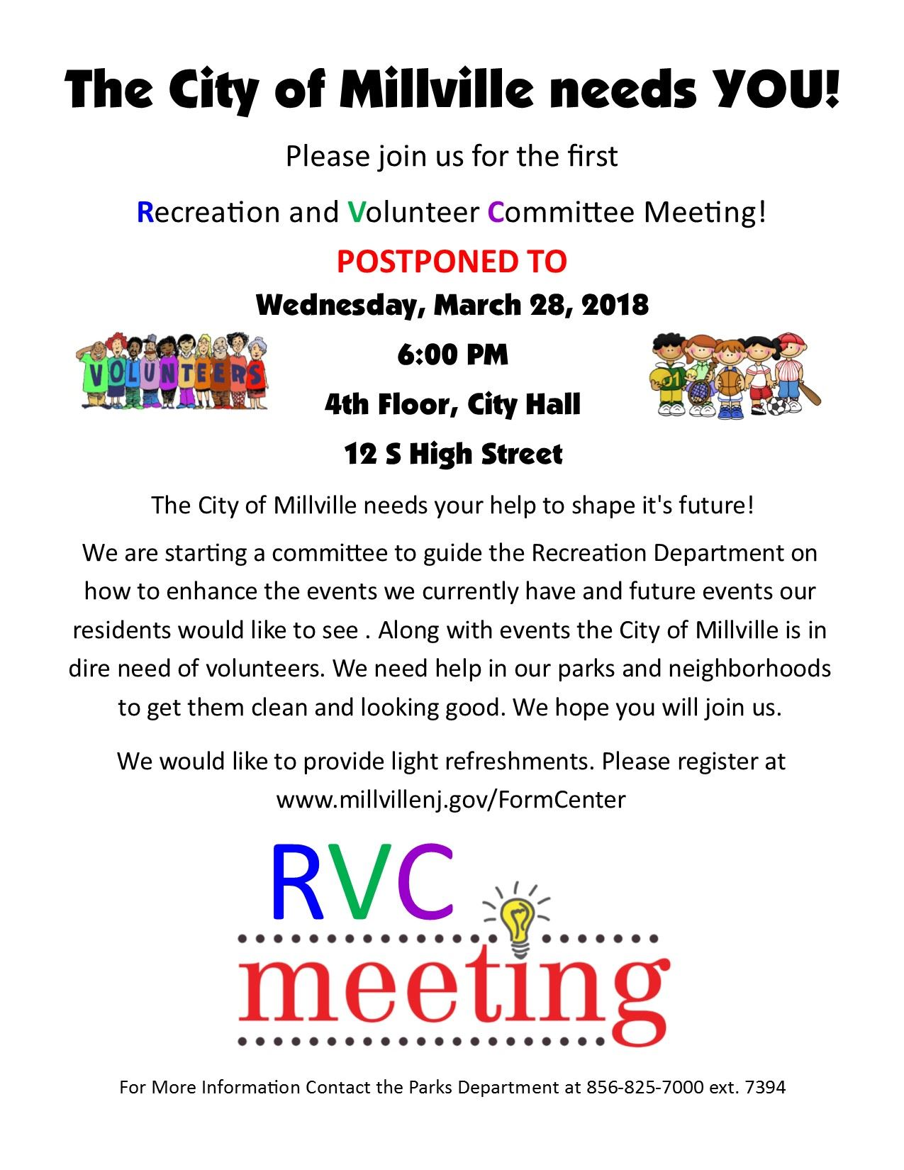 RVC Meeting Flyer