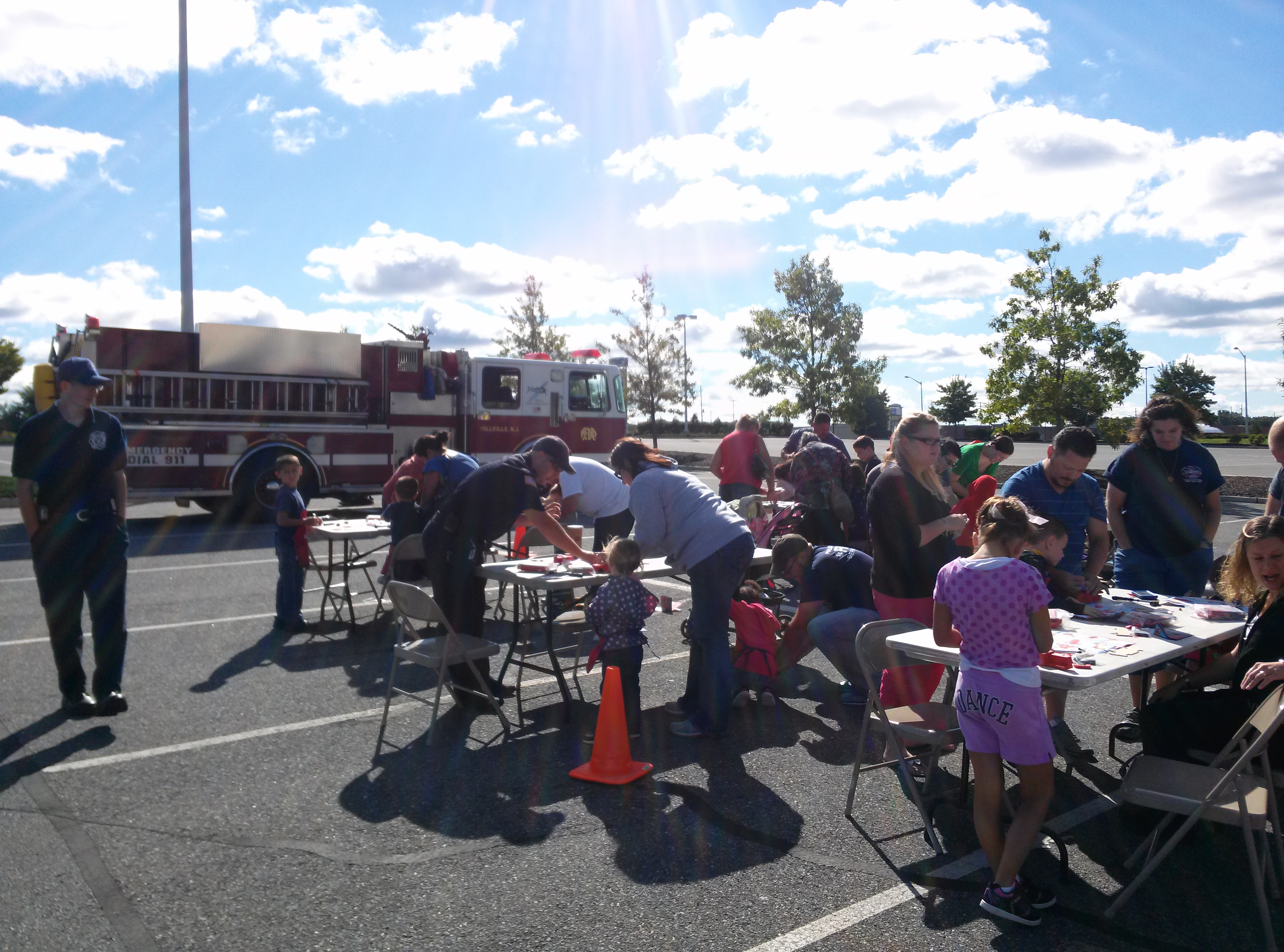 Lowes Fire Truck Day